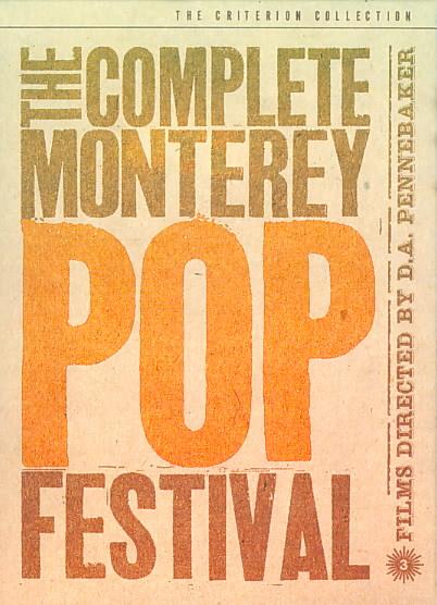COMPLETE MONTEREY POP FESTIVAL BY PENNEBAKER,D.A. (DVD)